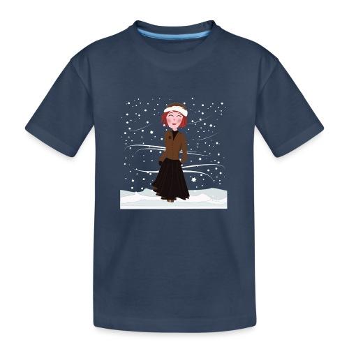 Heure d'hiver - T-shirt bio Premium Ado