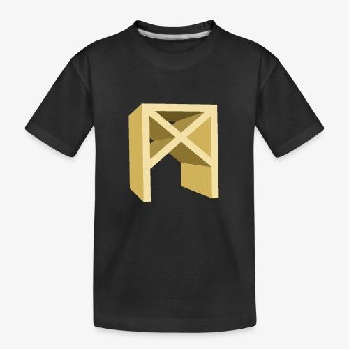 Rune Mannaz - Teenager Premium Bio T-Shirt
