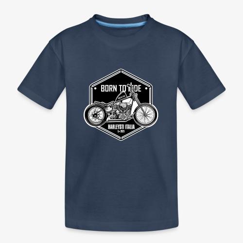 Born to Ride - Vintage motorbike - Maglietta ecologica premium per ragazzi