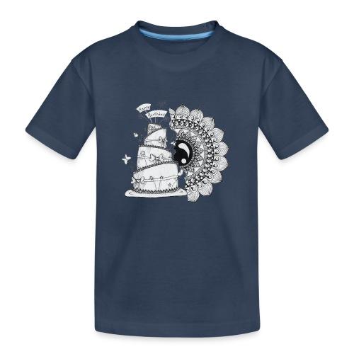 TortaMandala - Maglietta ecologica premium per ragazzi