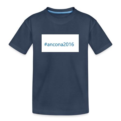 #ancona2016 - Camiseta orgánica premium adolescente