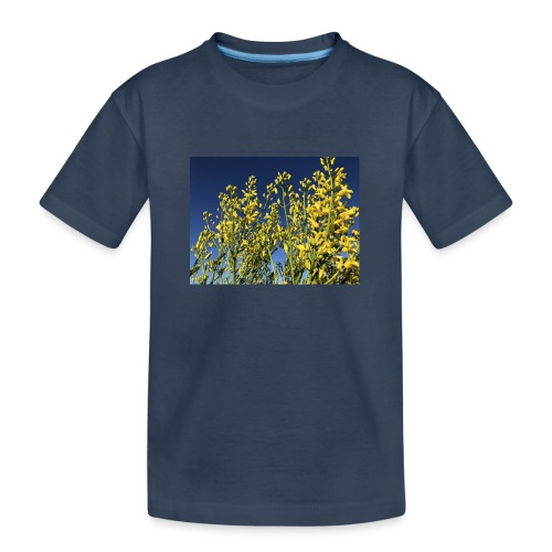 Green Cabbage in the Sky - Teenager premium T-shirt økologisk