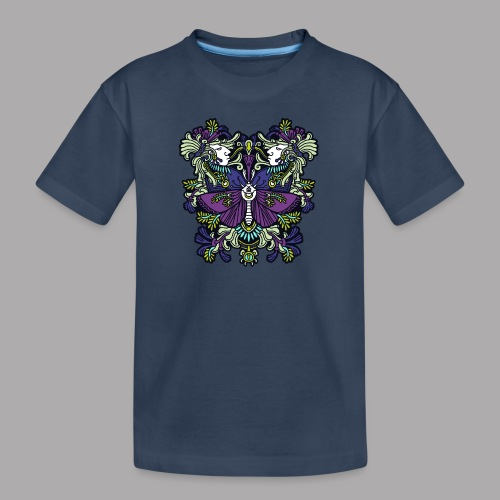 moth - Teenager Premium Organic T-Shirt