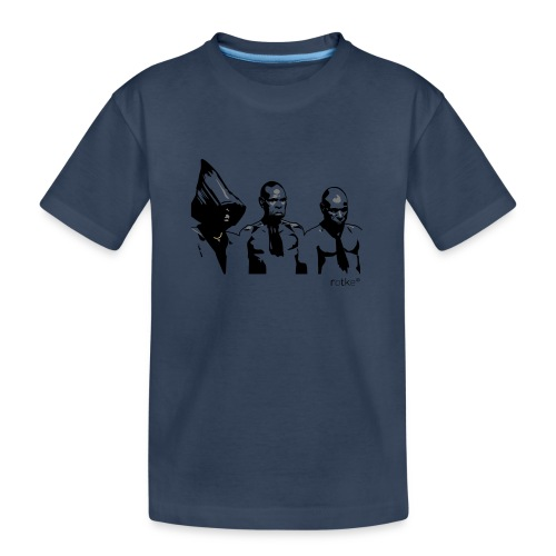 3 rotkes - Teenager Premium Bio T-Shirt