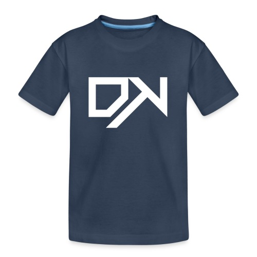 DewKee Logo Cap White - Teenager Premium Organic T-Shirt