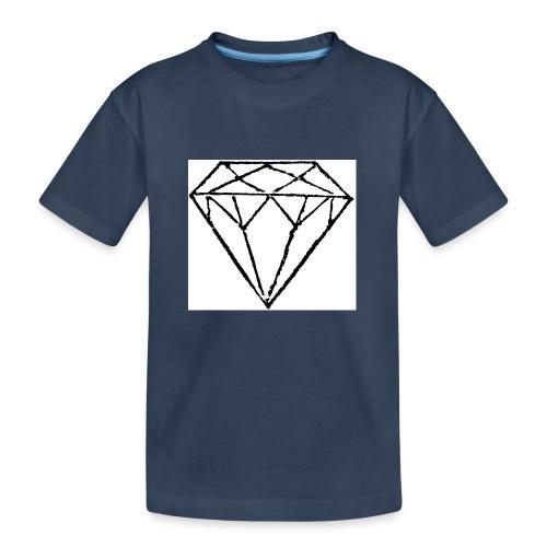 Diamond - Ekologisk premium-T-shirt tonåring