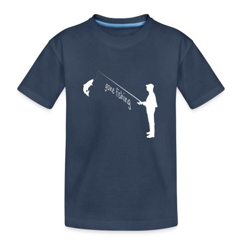 Angler gone fishing - Teenager Premium Bio T-Shirt