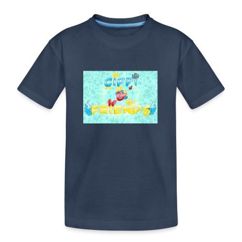 Tazza Cippi & Friends - Maglietta ecologica premium per ragazzi