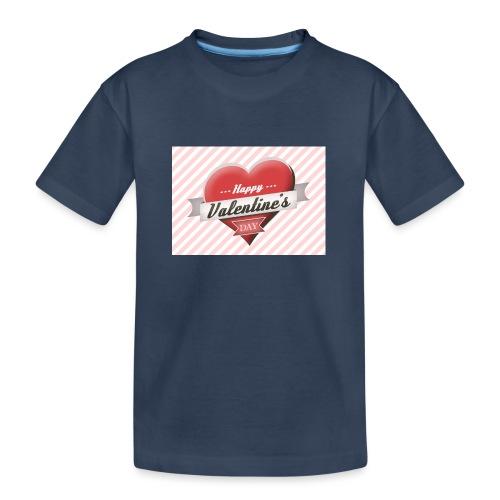 happy valentines day - Teenager Premium Organic T-Shirt