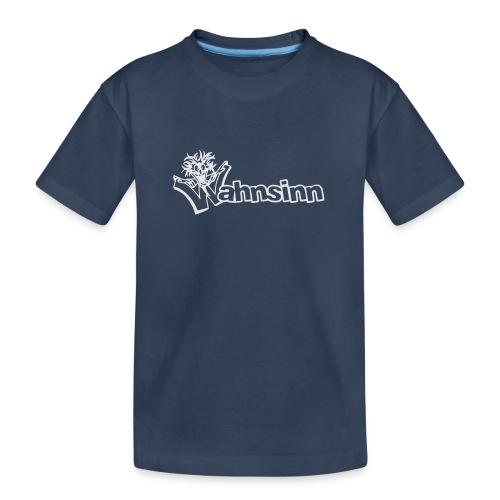 Wahnsinn Logo - Teenager premium biologisch T-shirt