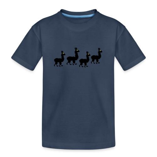 Lama3 - Teenager Premium Bio T-Shirt