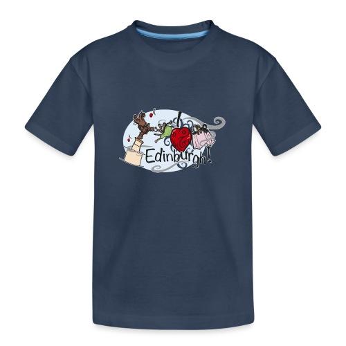 I love Edinburgh - Teenager Premium Organic T-Shirt