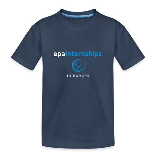 EPA Logo White - Teenager Premium Organic T-Shirt