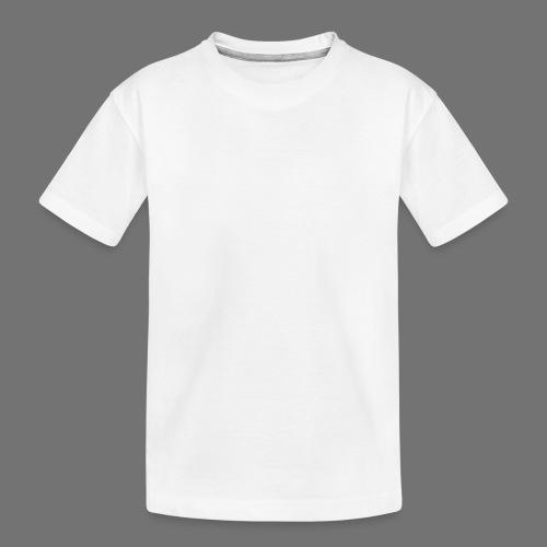 160 BPM (valkoinen pitkä) - Teinien premium luomu-t-paita