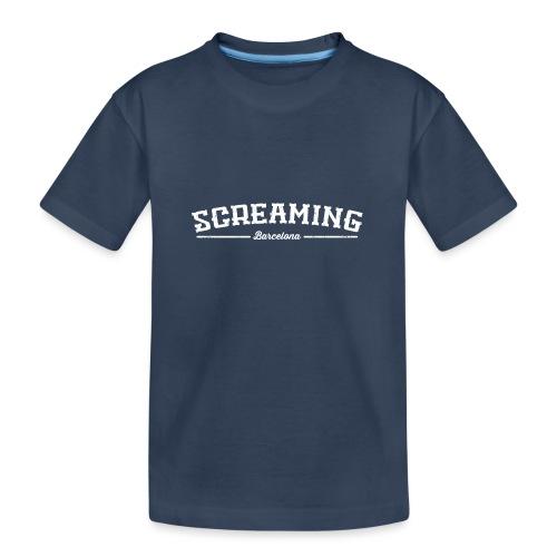 SCREAMING - Camiseta orgánica premium adolescente