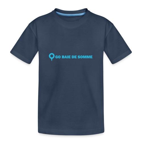 LOGO Go Baie de Somme - T-shirt bio Premium Ado