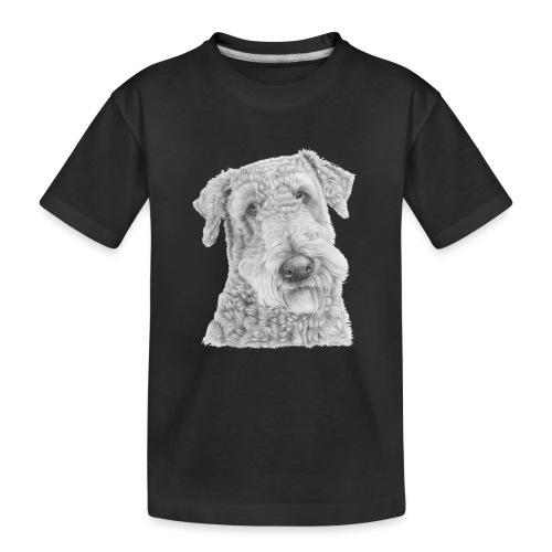 airedale terrier - Teenager premium T-shirt økologisk