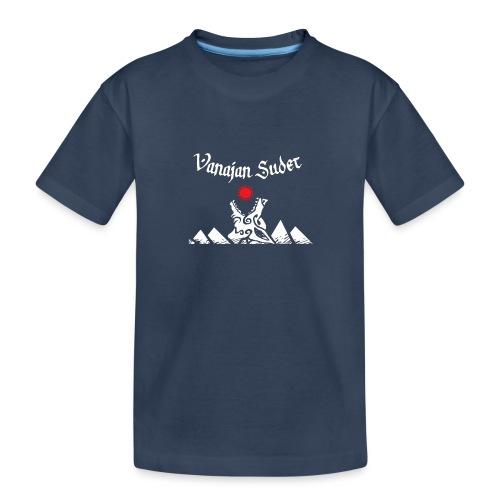 Auringonsyöjä - Teinien premium luomu-t-paita