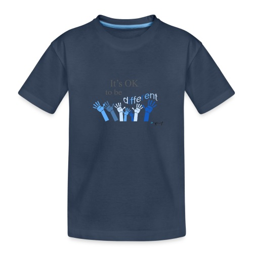 Its OK to be different - Ekologiczna koszulka młodzieżowa Premium