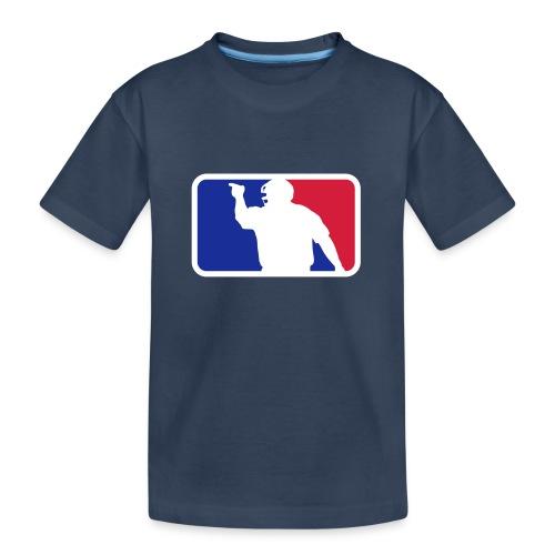 Baseball Umpire Logo - Teenager Premium Organic T-Shirt