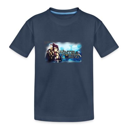 Overwatch and GameOfThrones Fusion - Teenager Premium Organic T-Shirt