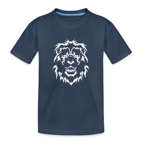 Karavaan LION - Teenager premium biologisch T-shirt
