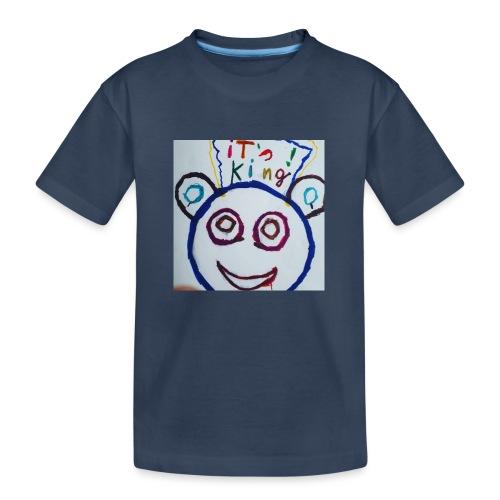 de panda beer - Teenager premium biologisch T-shirt