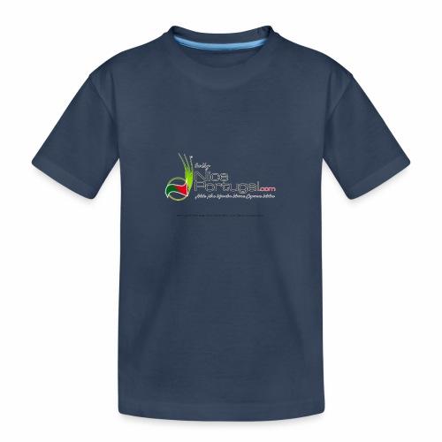 NicePortugal.com Logo - Maglietta ecologica premium per ragazzi