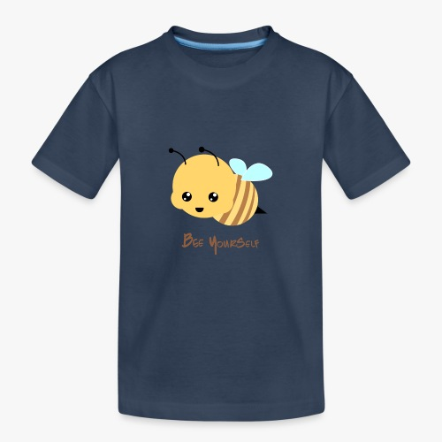 Bee Yourself - Teenager premium T-shirt økologisk