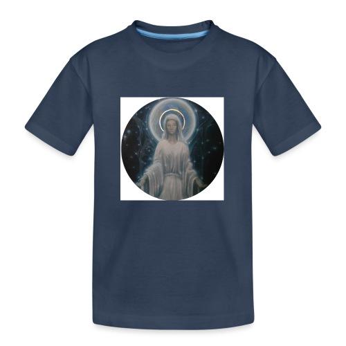 圣母玛利亚 Notre Dame by Jean Libon - T-shirt bio Premium Ado