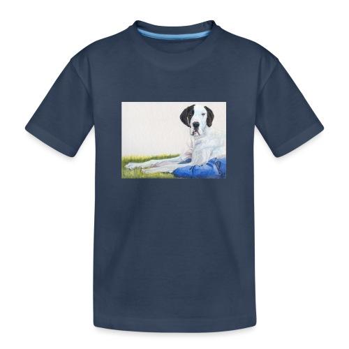 Grand danios harlequin - Teenager premium T-shirt økologisk