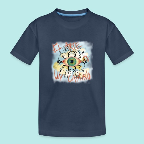 El Arte es un camino - Camiseta orgánica premium adolescente