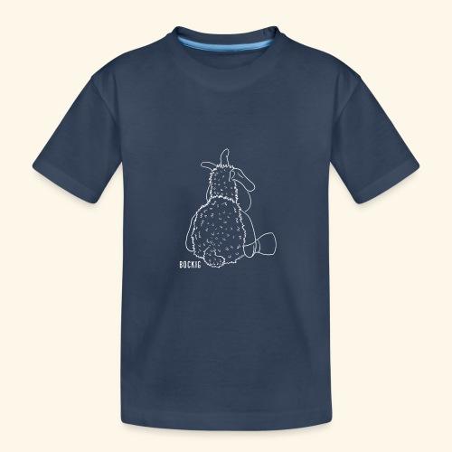 Schafbock: Bockig - weiß - Teenager Premium Bio T-Shirt