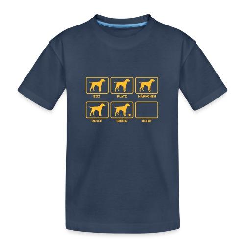 Für alle Hundebesitzer mit Humor - Teenager Premium Bio T-Shirt