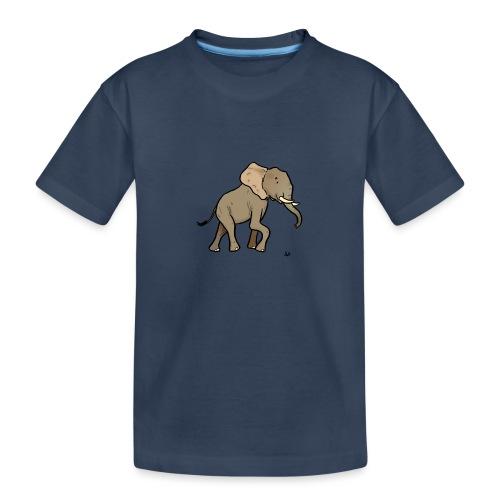 Afrikanischer Elefant - Teenager Premium Bio T-Shirt