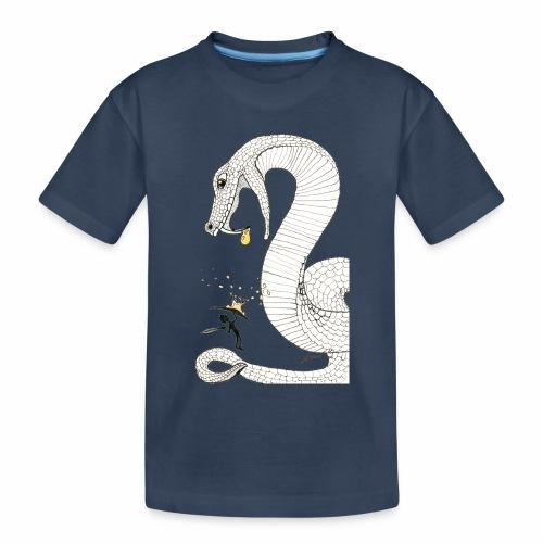 Poison - Combat contre un serpent venimeux géant - T-shirt bio Premium Ado