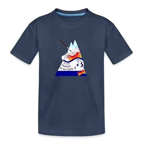 Logo colori - Maglietta ecologica premium per ragazzi