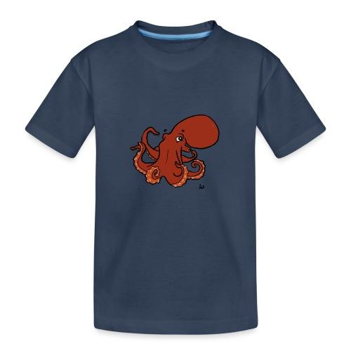 Riesenkrake aus dem Pazifik - Teenager Premium Bio T-Shirt