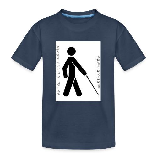 Blind T-Shirt - Teenager Premium Organic T-Shirt