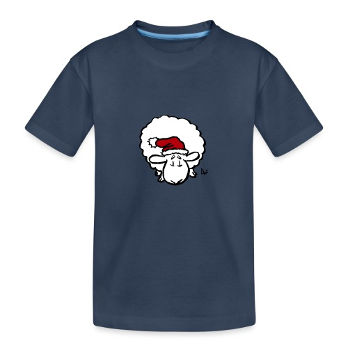 Santa Sheep (red) - Teenager Premium Bio T-Shirt