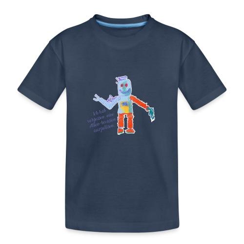 Alien Invasion - Teenager Premium Bio T-Shirt
