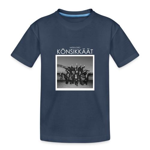 Könsikkäät - joulu saarella - Teinien premium luomu-t-paita