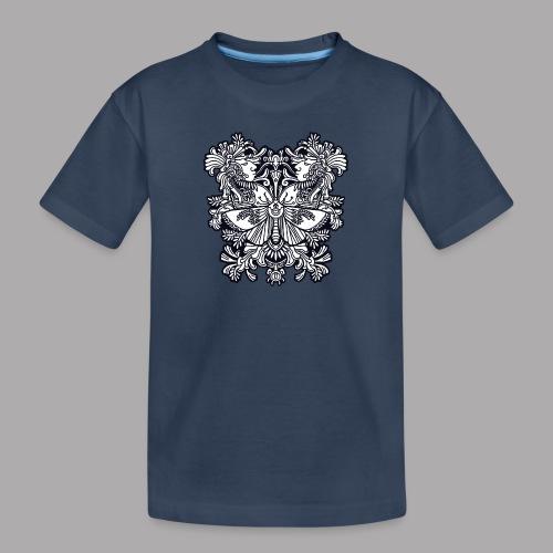 moth black - Teenager Premium Organic T-Shirt