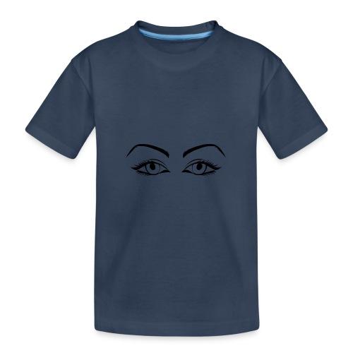 Womans eyes black - T-shirt bio Premium Ado