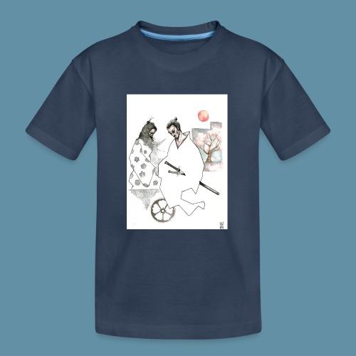 Samurai copia jpg - Maglietta ecologica premium per ragazzi
