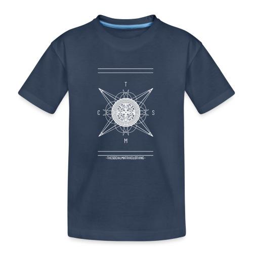 DE PIONEER [WIT] - Teenager premium biologisch T-shirt
