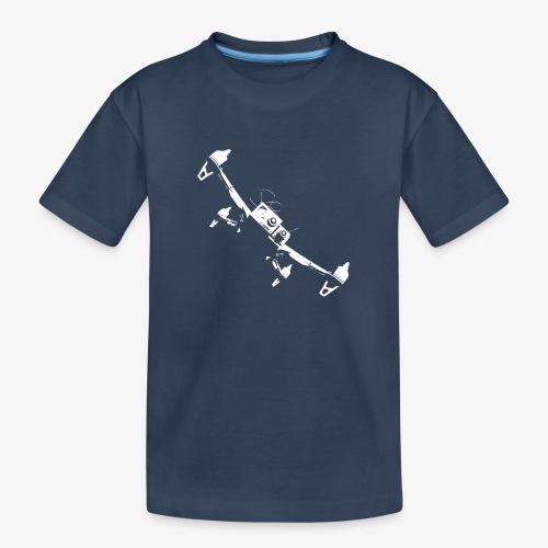quadflyby2 - Teenager Premium Organic T-Shirt