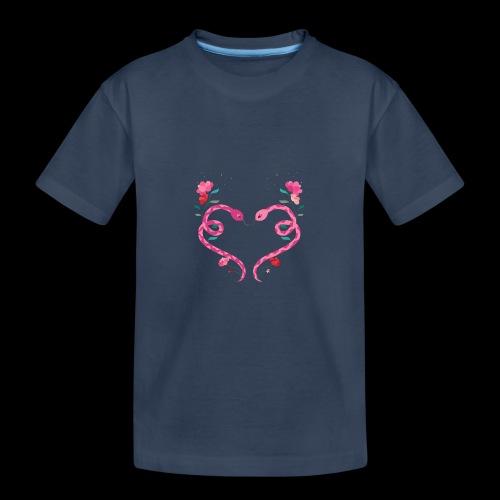 Coeur de serpents - T-shirt bio Premium Ado