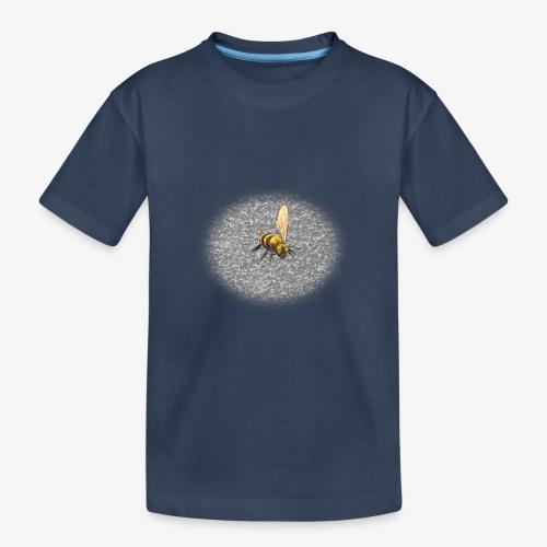 biene mit steienen - Teenager Premium Bio T-Shirt