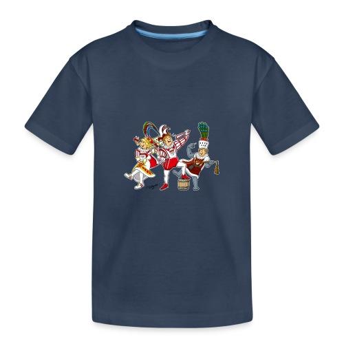 Köln Dreigestirn - Teenager Premium Bio T-Shirt